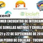 Bioleft en el Primer Encuentro de Intercambio de Semillas Nativas y Criollas