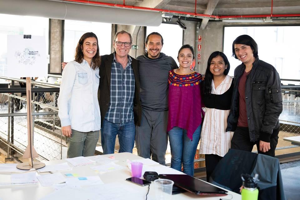 Equipo Bioleft en Medialab Prado