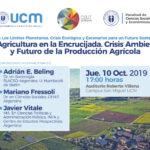 Bioleft en una conferencia sobre agricultura y transición en Chile