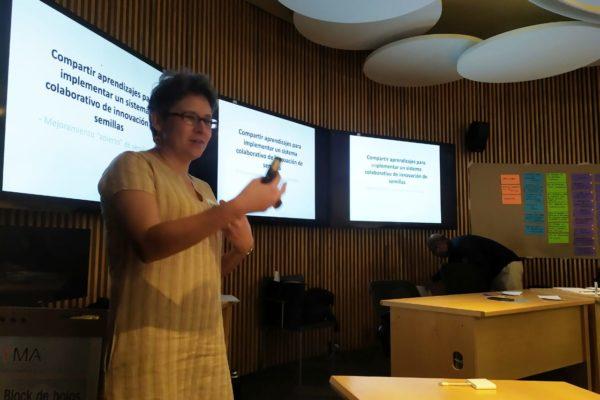 Ana Escalante presenta Bioleft en México