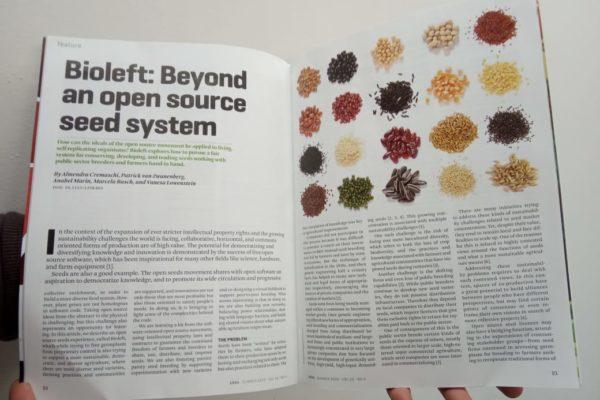 Bioleft en XRDS, la revista de Association for Computing Machinery