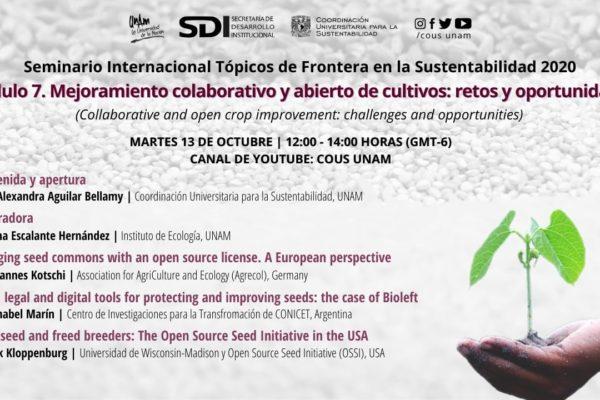 Webinario internacional sobre mejoramiento colaborativo en UNAM